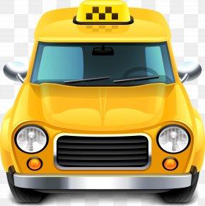 Taxi Vector - Taxi Train Car PNG