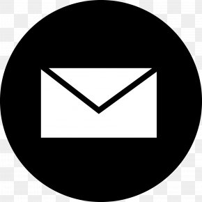 Line Art Triangle - Gmail Logo PNG