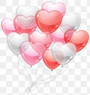 Heart Baloons PNG Picture - Balloon Valentine's Day Clip Art PNG