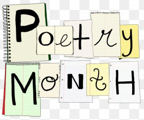 Poetic - National Poetry Month April Concrete Poetry National Poetry Day PNG