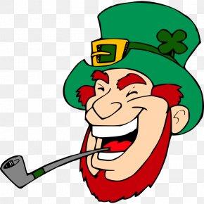 Pictures Of Leprechaun - Leprechaun Saint Patricks Day Clip Art PNG