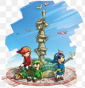 The Legend Of Zelda - The Legend Of Zelda: Tri Force Heroes The Legend Of Zelda: A Link Between Worlds The Legend Of Zelda: The Wind Waker PNG
