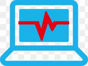 Heartbeat Computer - Computer Download Medicine Clip Art PNG