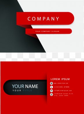 Business Card - Business Card Visiting Card Logo Page Layout PNG