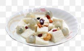 Longan Milk Dessert - Milk Frozen Dessert European Cuisine PNG
