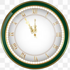 Green New Year Clock PNG Clip-Art Image - Wedding Cake Birthday Cake New Year's Eve Clock PNG