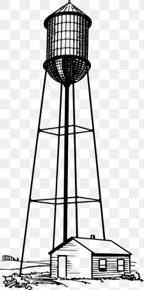 Water Tower - Chicago Water Tower Clip Art PNG