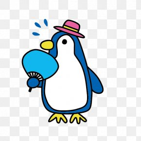 Penguin - Penguin U6691u4e2du898bu821eu3044 Clip Art PNG