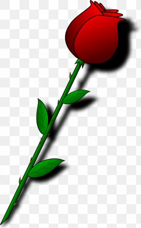 Beautiful Bouquet Of Red Roses - Valentines Day Flower Bouquet Heart Clip Art PNG