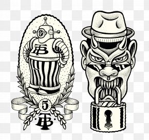 Grimace Tag - Visual Arts Drawing Tattoo Illustration PNG