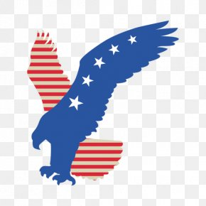 American Eagle - Flag Of The United States T-shirt Clip Art PNG