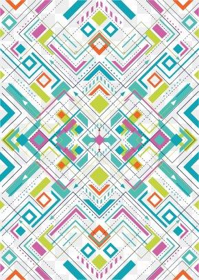 Geometric Shape Pattern - Graphic Design Geometry Shape Pattern PNG