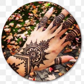 Henna Tattoo - Mehndi Henna Tattoo Dye Body Art PNG
