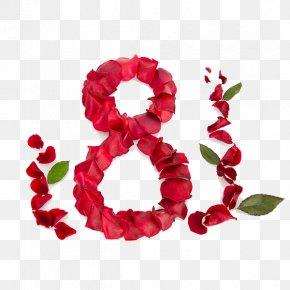 Petals 8 - Gift International Women's Day Flower Bouquet Holiday PNG