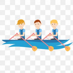Boating Cartoon - Olympic Games Rio 2016 PyeongChang 2018 Olympic Winter Games The London 2012 Summer Olympics 2014 Winter Olympics PNG