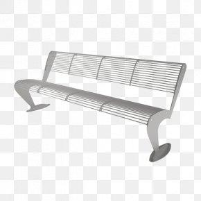 Albatross - Street Furniture Steel Bench Industrial Design PNG