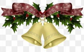 Christmas Bells - Christmas Jingle Bell Silver Bells Clip Art PNG