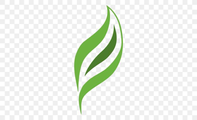 Leaf Logo Plant Stem Brand Font, PNG, 500x500px, Leaf, Brand, Grass, Green, Logo Download Free