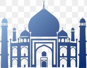 Mosque Silhouette - Halal Mosque Islamic Architecture PNG