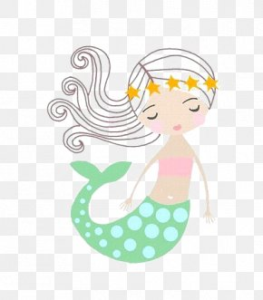 Mermaid - Mermaid Drawing Cartoon PNG