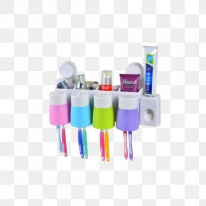 Xin Yan Toothpaste Holder Toothbrush Holder Suit A Family Of Four Suction Cups - Electric Toothbrush Mouthwash Borste PNG