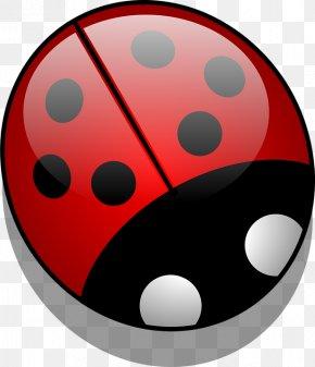 Abstract Art Red Ladybug - Beetle Ladybird Clip Art PNG