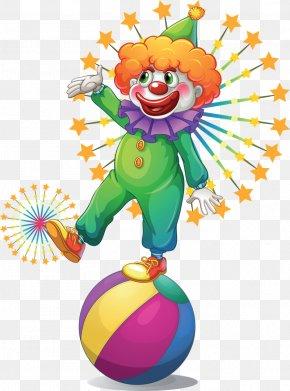 Cheap Carnival - Clown Circus Clip Art PNG