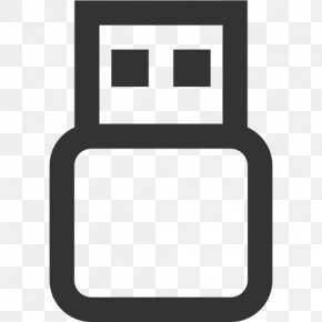 Usb Flash Drive - USB Flash Drive Computer Hardware Icon PNG