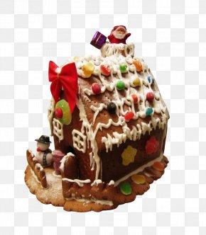Chocolate Cake - Gingerbread House Ginger Snap Fruitcake Chocolate Cake PNG