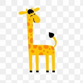 Cartoon Giraffe - Northern Giraffe Cartoon PNG
