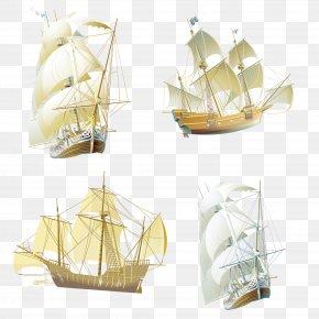 Sailing Vector Material Collection - Euclidean Vector Material Vecteur PNG