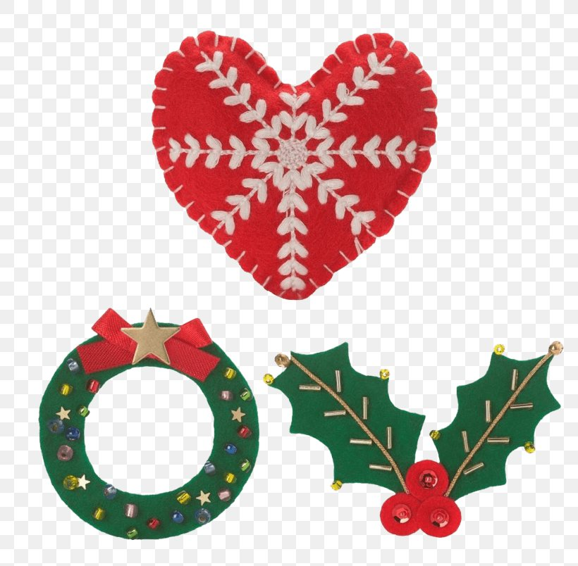 Christmas Day Christmas Ornament Image Design, PNG, 803x804px, Christmas Day, Christmas Ornament, Designer, Garland, Heart Download Free