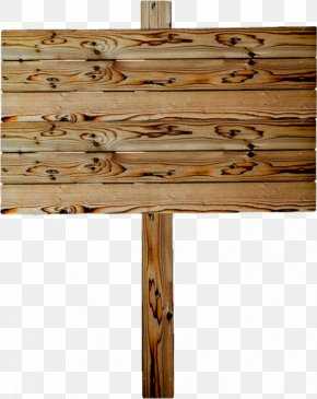 Wood - Wood Sign Post Placard PNG