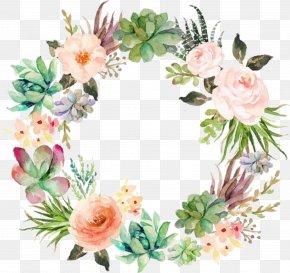 Flower - Floral Design Flower Garland Wreath Wedding Invitation PNG