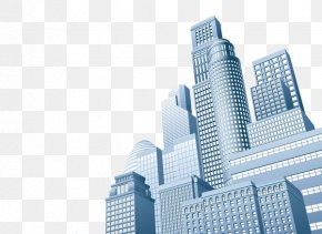 Modern Skyscrapers - Skyscraper Stock Photography Business Illustration PNG