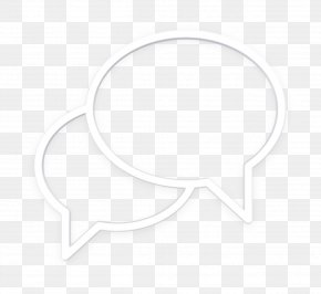 White Chat Icon - Communication Icon Chat Icon PNG