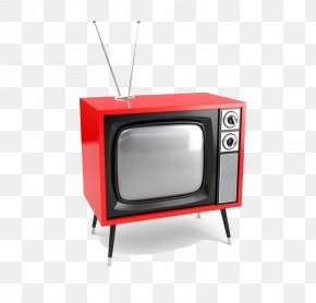 There Stays Teach Old Red Retro TV - High-definition Television Television Show Film PNG