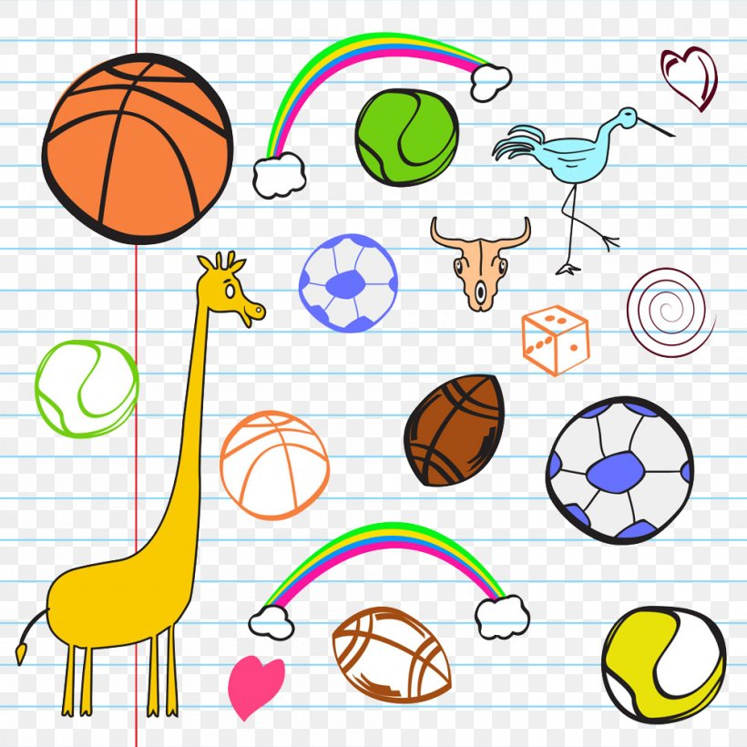 Ball Game Cartoon Sport Illustration, PNG, 1000x1000px, Ball Game, Area, Ball, Basketball, Cartoon Download Free