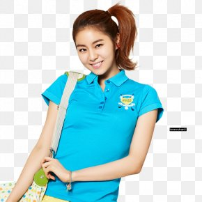 After School - Uee After School Digital Art Polo Shirt PNG