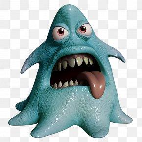 3D Monster - Monster Cartoon Stock Photography PNG