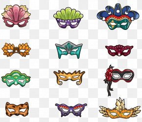 Mask Dance Mask - Mask Cartoon Masquerade Ball Clip Art PNG