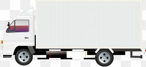 A Truck - Compact Van Car Brand Commercial Vehicle PNG