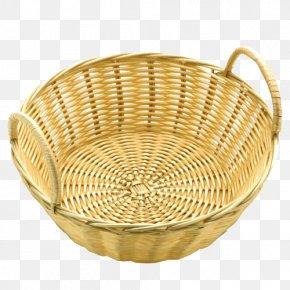 Rattan - Basket Rattan Bread Wicker Wood PNG