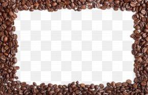 Coffee Beans Border - Iced Coffee Coffee Bean Cafe Coffee Percolator PNG