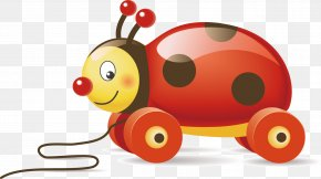 Ladybug Car Vector Elements - Toy Stock Photography Stock Illustration Icon PNG