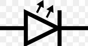 High Voltage - Light-emitting Diode Electronic Symbol Clip Art PNG