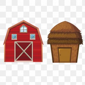 Vector Red House - Age Of Enlightenment Cattle Granary Barn Farm PNG