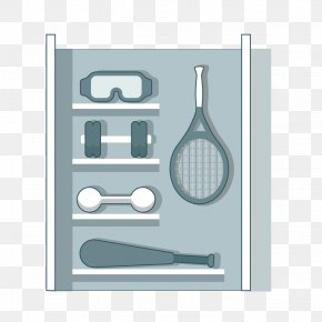Vector Sports Equipment Cabinet - Euclidean Vector Sports Equipment Exercise Equipment PNG