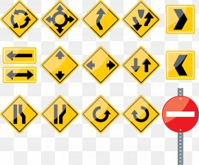 Vector Traffic Signs - Euclidean Vector Traffic Computer File PNG