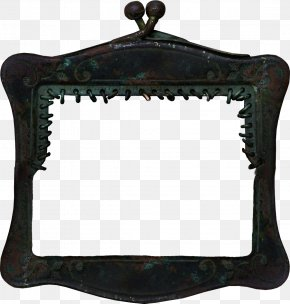 Black Metal Box - Picture Frame Clip Art PNG